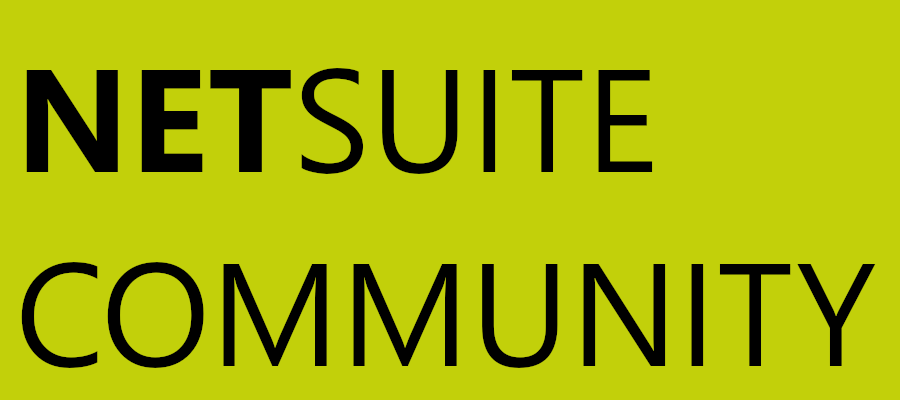 The NetSuite Community